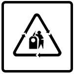نماد بازیافت شیشه