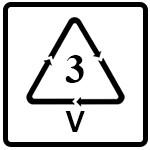 نماد PVC(پلی وینیل کلراید)
