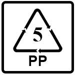 نماد PP(پلی پروپیلن)