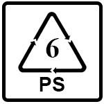 نماد PS(پلی استایرن)