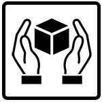 نماد با احتیاط حمل شود