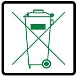 نماد داخل سطل زباله نریزید